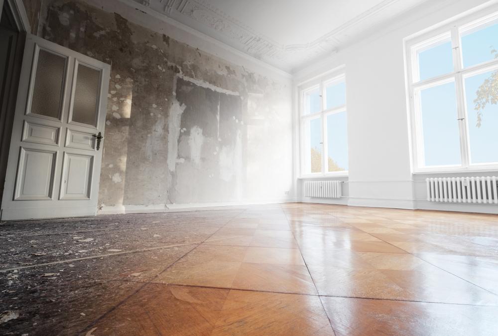 restauration d'une maison ancienne
